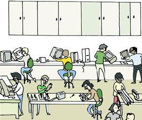 aula de tecnoloxía